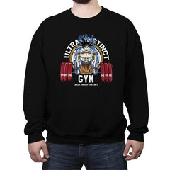 Ultra Instinct Gym - Crew Neck Sweatshirt - Crew Neck Sweatshirt - RIPT Apparel