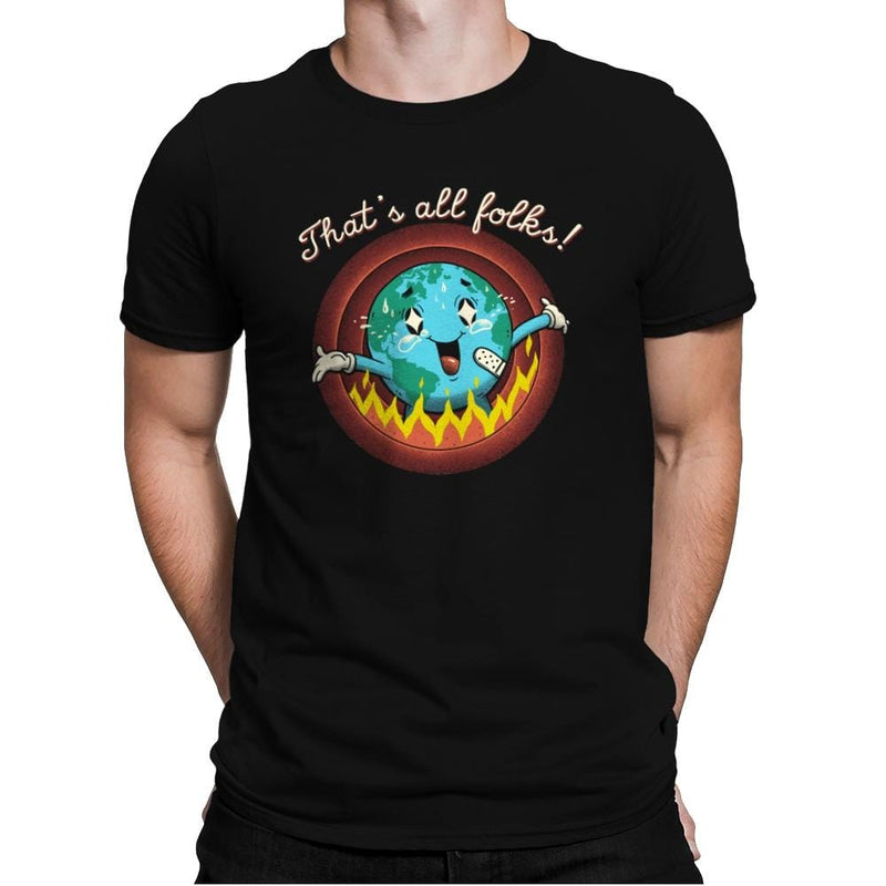 That's All, That's It - Mens Premium - T-Shirts - RIPT Apparel