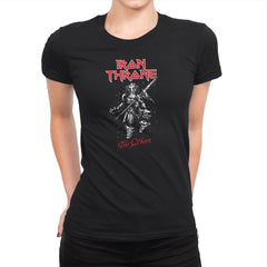 Iron Throne - Heavy Metal Machine - Womens Premium - T-Shirts - RIPT Apparel