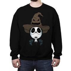 The Hat Of Sorting! - Raffitees - Crew Neck Sweatshirt - Crew Neck Sweatshirt - RIPT Apparel