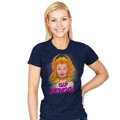 She-is old School - Womens - T-Shirts - RIPT Apparel