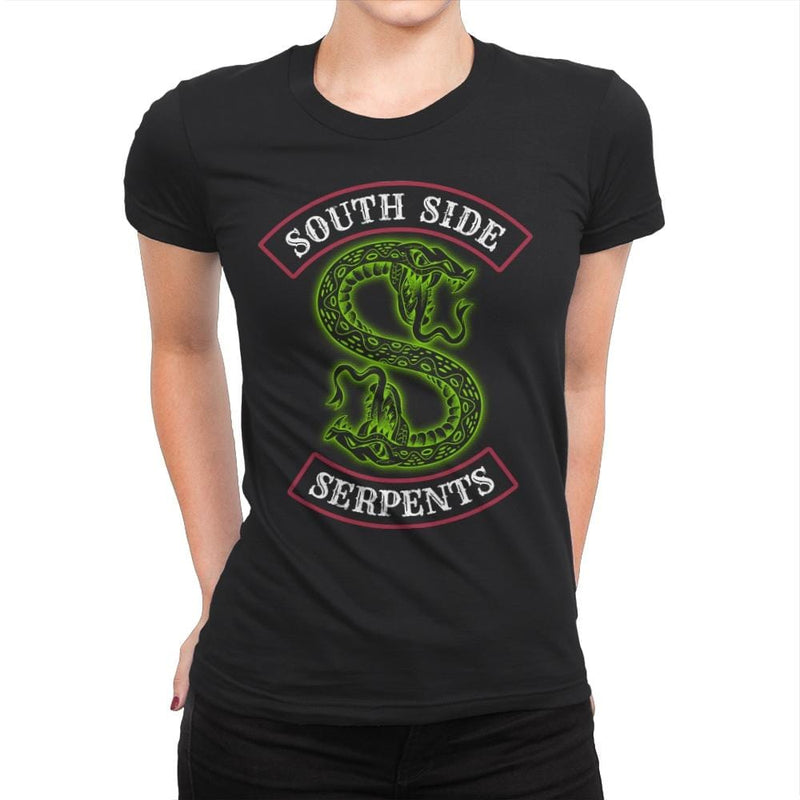 South Side Serpents - Womens Premium - T-Shirts - RIPT Apparel