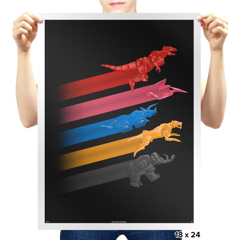 Ranger Force - Prints - Posters - RIPT Apparel