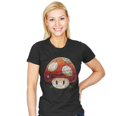 Super Arcimboldo - Womens - T-Shirts - RIPT Apparel