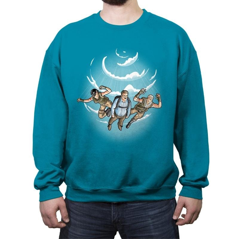 Falling - Crew Neck Sweatshirt - Crew Neck Sweatshirt - RIPT Apparel