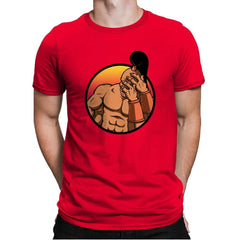 Mortal Facepalm - Mens Premium - T-Shirts - RIPT Apparel