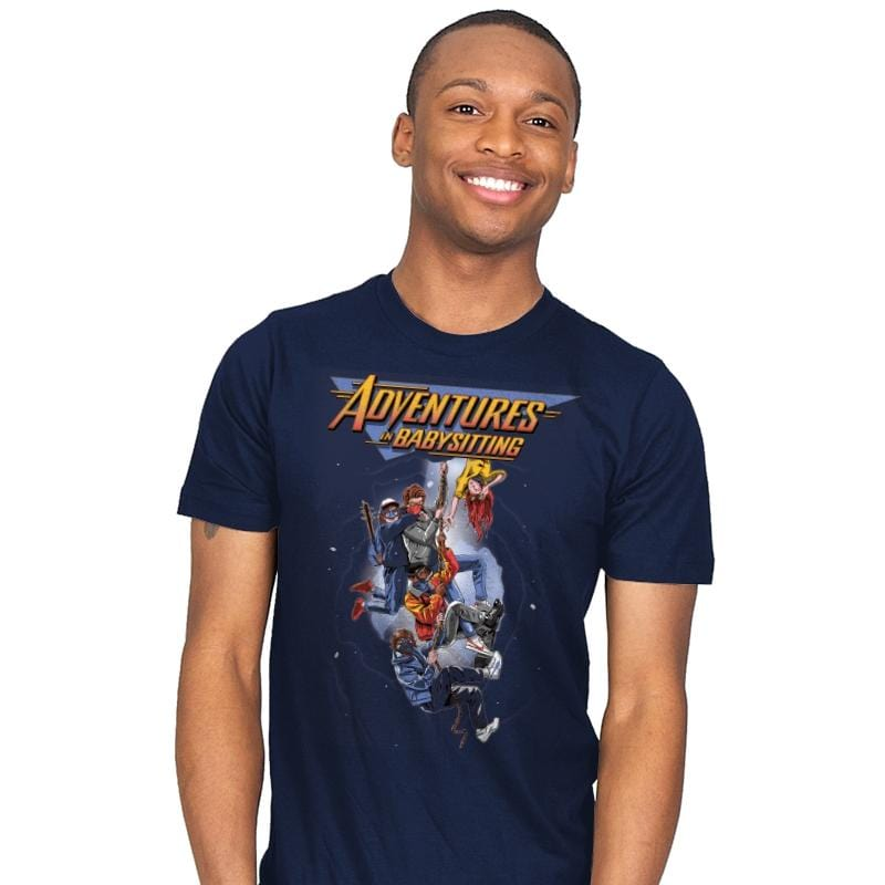 Steve's Adventure in Babysitting - Mens - T-Shirts - RIPT Apparel