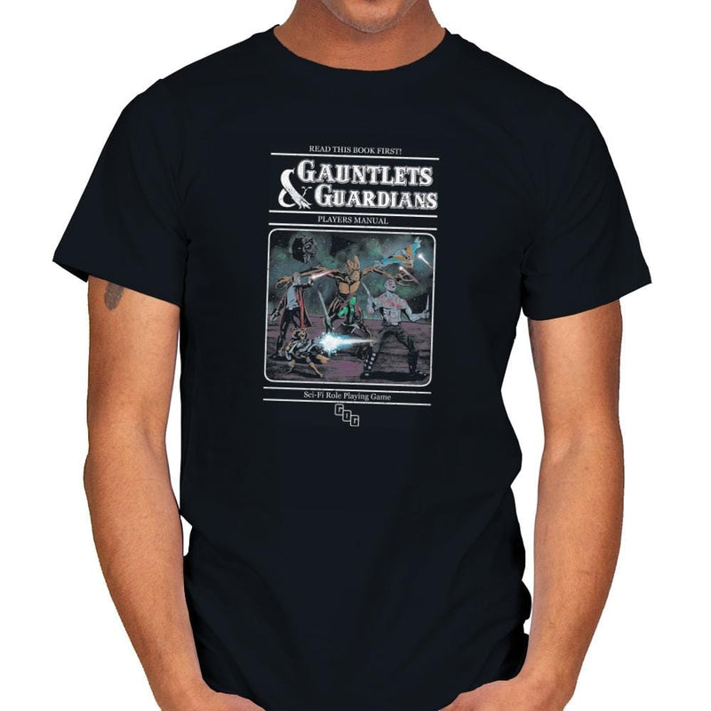 Gauntlets and Guardians Exclusive - Mens - T-Shirts - RIPT Apparel