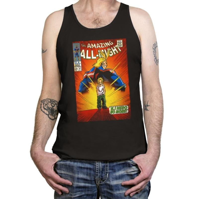 The Amazing All Might - Tanktop - Tanktop - RIPT Apparel