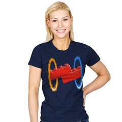 Now Your Building With Portals Exclusive - Womens - T-Shirts - RIPT Apparel