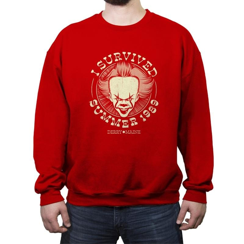 Surviving Derry - Crew Neck Sweatshirt - Crew Neck Sweatshirt - RIPT Apparel
