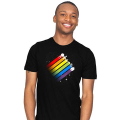 Space for Everyone - Pride - Mens - T-Shirts - RIPT Apparel