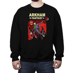 Arkham Fantasy - Crew Neck Sweatshirt - Crew Neck Sweatshirt - RIPT Apparel