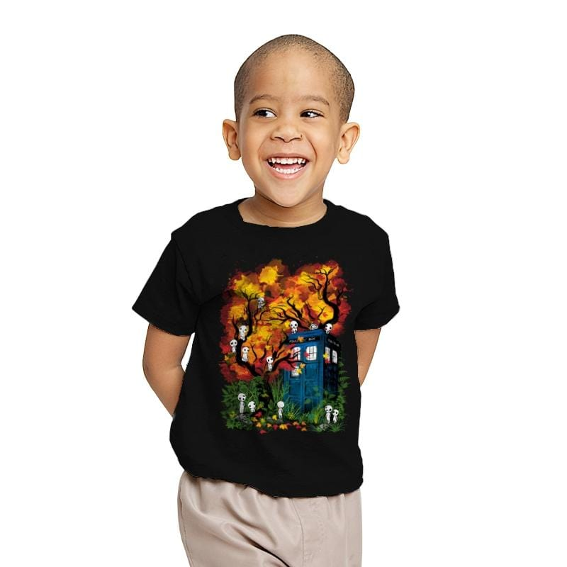 The Doctor in the Forest - Youth - T-Shirts - RIPT Apparel
