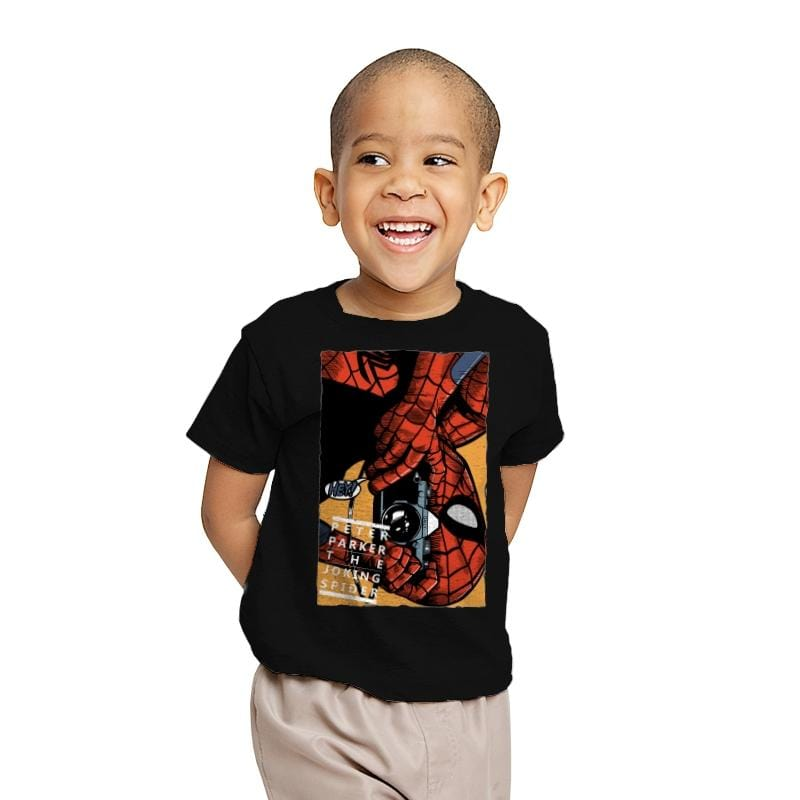 The Joking Spider - Youth - T-Shirts - RIPT Apparel
