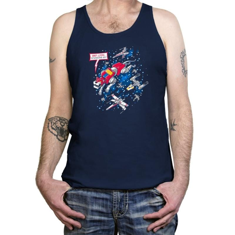 Red Lion, Standing By Exclusive - Tanktop - Tanktop - RIPT Apparel