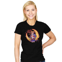 Moon Light Samurai - Womens - T-Shirts - RIPT Apparel