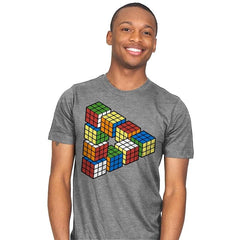 Magic Puzzle Cube - Mens - T-Shirts - RIPT Apparel