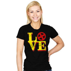 Mutant Love - Womens - T-Shirts - RIPT Apparel