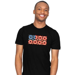 USA Donuts Exclusive - Star-Spangled - Mens - T-Shirts - RIPT Apparel