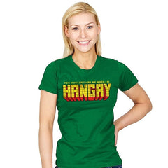 You Wouldn't Like Me When I'm Hangry - Womens - T-Shirts - RIPT Apparel