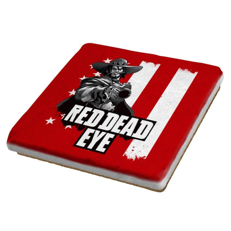 Red Dead Eye - Coasters - Coasters - RIPT Apparel