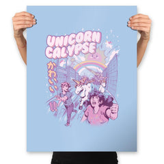 Unicorn Calypse - Prints - Posters - RIPT Apparel