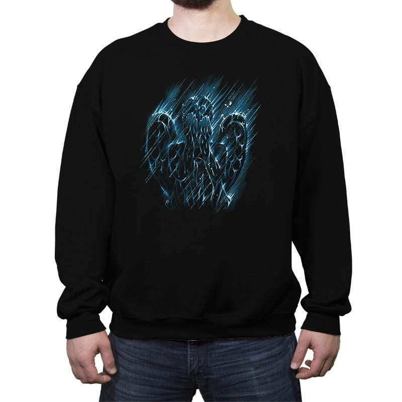 Weeping Sky - Crew Neck Sweatshirt - Crew Neck Sweatshirt - RIPT Apparel