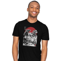 Attack on Japanese Temple - Mens - T-Shirts - RIPT Apparel