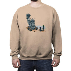 Planet of the Kong Reprint - Crew Neck Sweatshirt - Crew Neck Sweatshirt - RIPT Apparel