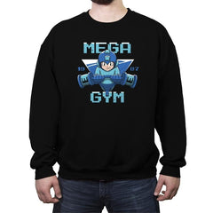 Mega Gym - Crew Neck Sweatshirt - Crew Neck Sweatshirt - RIPT Apparel