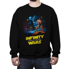 Infinity Wars - Crew Neck Sweatshirt - Crew Neck Sweatshirt - RIPT Apparel