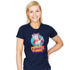 Princess of Purrr - Saturday Morning Tees - Womens - T-Shirts - RIPT Apparel