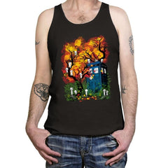 The Doctor in the Forest - Tanktop - Tanktop - RIPT Apparel