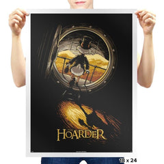 The Hoarder - Prints - Posters - RIPT Apparel