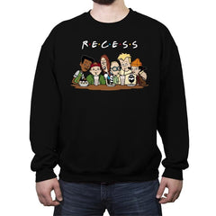 Recess Forever - Crew Neck Sweatshirt - Crew Neck Sweatshirt - RIPT Apparel