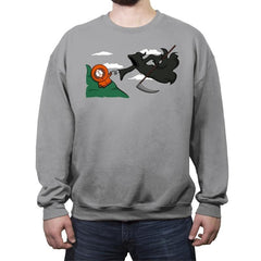 The Extinction! - Raffitees - Crew Neck Sweatshirt - Crew Neck Sweatshirt - RIPT Apparel