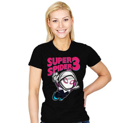 Super Spider Bros 3 - Womens - T-Shirts - RIPT Apparel