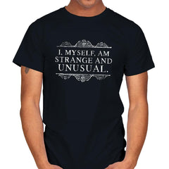 Strange and Unusual - Mens - T-Shirts - RIPT Apparel