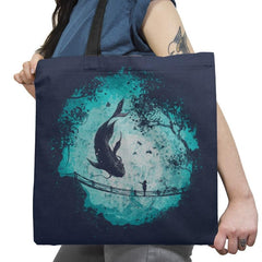 My Secret Friend - Back to Nature - Tote Bag - Tote Bag - RIPT Apparel
