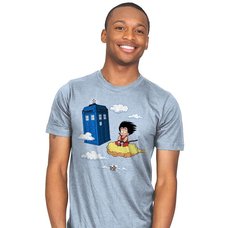 The Cloud and the Phone Box - Mens - T-Shirts - RIPT Apparel