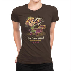 The Legendary Pizza - Womens Premium - T-Shirts - RIPT Apparel