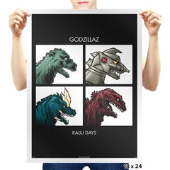 Kaiju Days REMASTERED Exclusive - Prints - Posters - RIPT Apparel