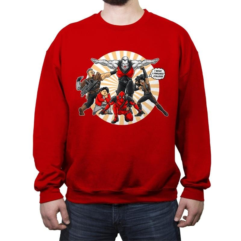 Ginyu-X-Force - Crew Neck Sweatshirt - Crew Neck Sweatshirt - RIPT Apparel