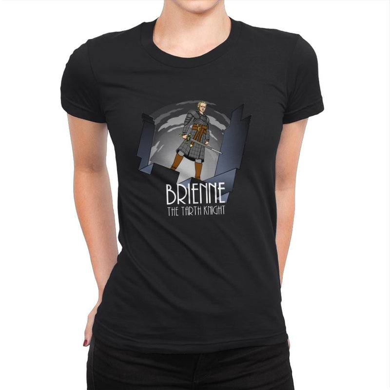 The Tarth Knight - Womens Premium - T-Shirts - RIPT Apparel