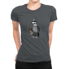 Mini Bendingbot Exclusive - Brick Tees - Womens Premium - T-Shirts - RIPT Apparel