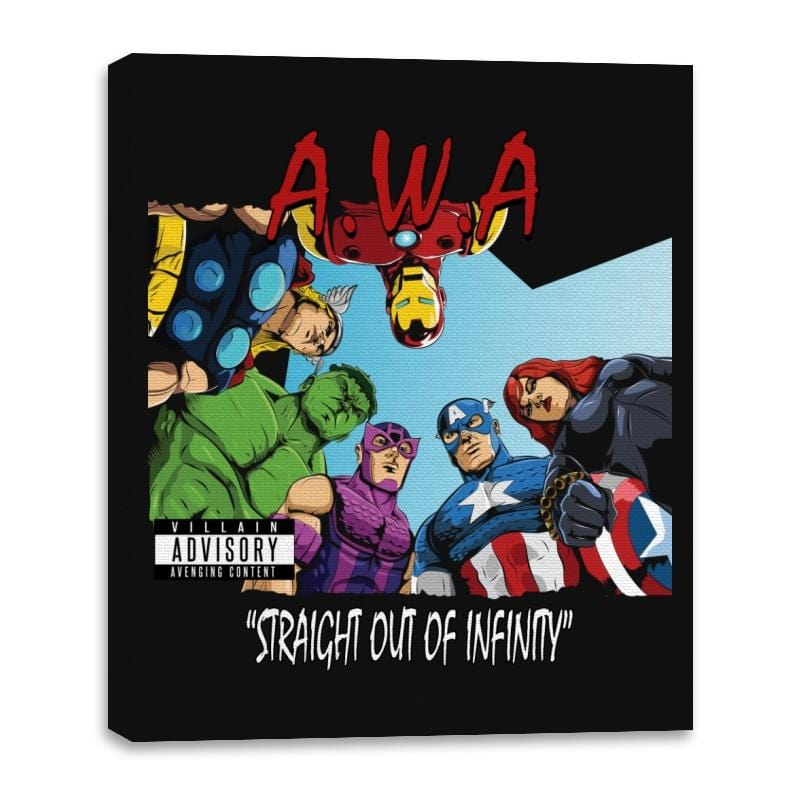 Straight Out of Infinity  - Anytime - Canvas Wraps - Canvas Wraps - RIPT Apparel