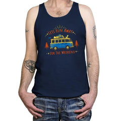 Lets Run Away For The Weekend - Tanktop - Tanktop - RIPT Apparel