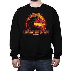 Lonely Mountain - Crew Neck Sweatshirt - Crew Neck Sweatshirt - RIPT Apparel