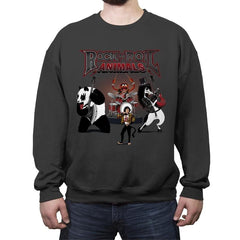 Rock & Roll Animals - Crew Neck Sweatshirt - Crew Neck Sweatshirt - RIPT Apparel